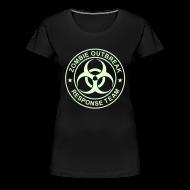 Women's T-Shirts ~ Women's Premium T-Shirt ~ 2-ULogo-FPlus-Full (Glowing)