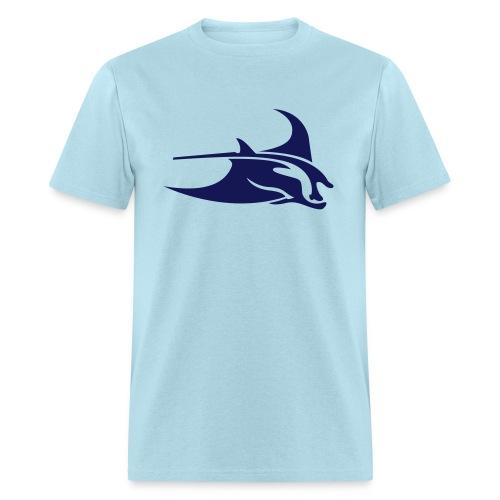 Manta Ray Blue - Men's T-Shirt