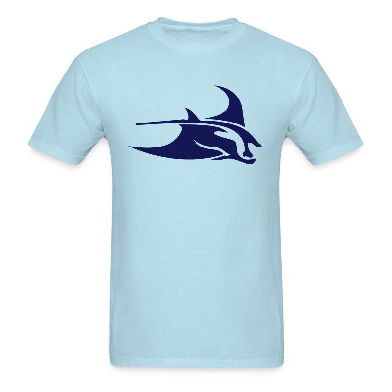 Manta Ray Blue - Men's T-Shirt