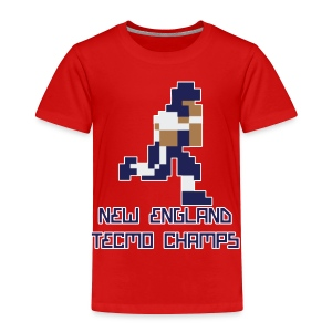New England Tecmo Champs - Toddler Premium T-Shirt