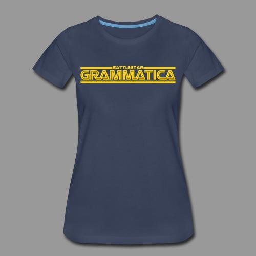 Battlestar Grammatica - Women's Premium T-Shirt