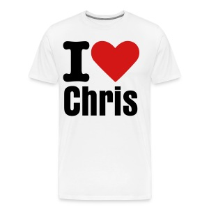 I Love The Character Shirt - Men's Premium T-Shirt