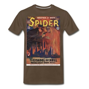 3XL The Spider: Citadel of Hell - Men's Premium T-Shirt