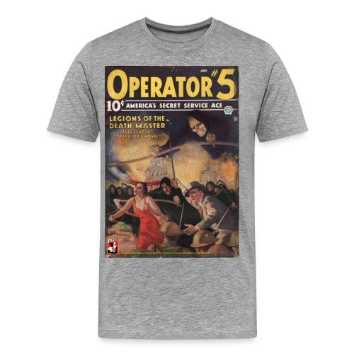 3XL Operator #5: Legions of the Death Master - Men's Premium T-Shirt