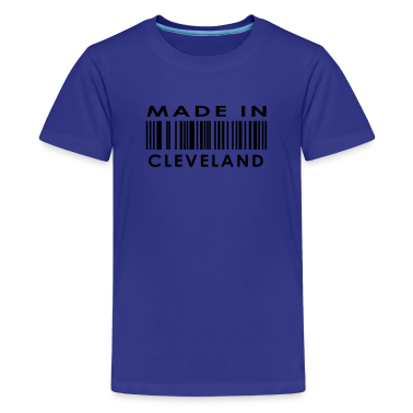 Made in Cleveland  Kids' Shirts