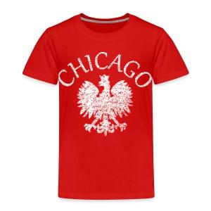 Polish Eagle Chicago - Toddler Premium T-Shirt