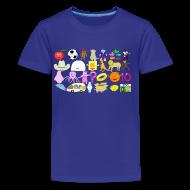 Kids' Shirts ~ Kids' Premium T-Shirt ~ Phonics Song 3