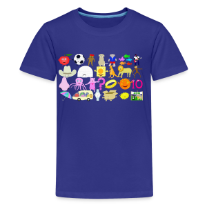 Phonics Song 3 - Kids' Premium T-Shirt