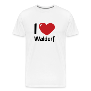 I love Waldorf - Men's Premium T-Shirt