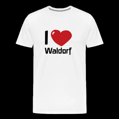 I love Waldorf - Men's Premium T-Shirt