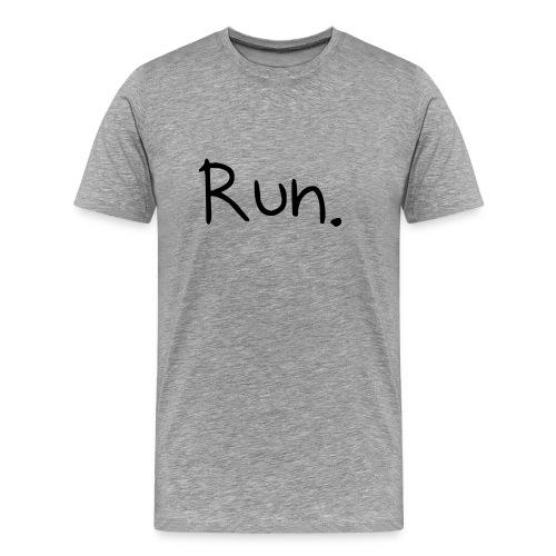 A Warning - Men's Premium T-Shirt