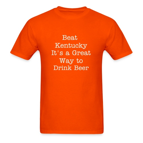 It's a Great Way to Drink Beer - Men's T-Shirt