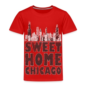 Old Sweet Home Chicago - Toddler Premium T-Shirt