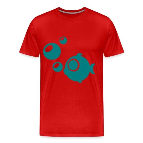 FISHING WITH DAD - Men's Premium T-Shirt