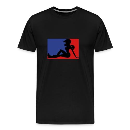 Dirtbike babe - Men's Premium T-Shirt