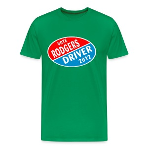 Vote Rodgers/Driver 2012 - Men's Premium T-Shirt