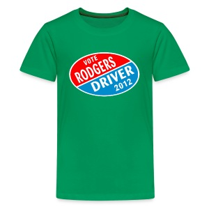 Vote Rodgers/Driver 2012 - Kids' Premium T-Shirt