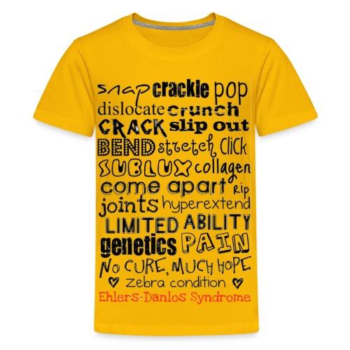 Snap, Crackle, Pop And Raise Awareness kid's tee - Kids' Premium T-Shirt
