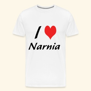 I Love Narnia - Men's Premium T-Shirt