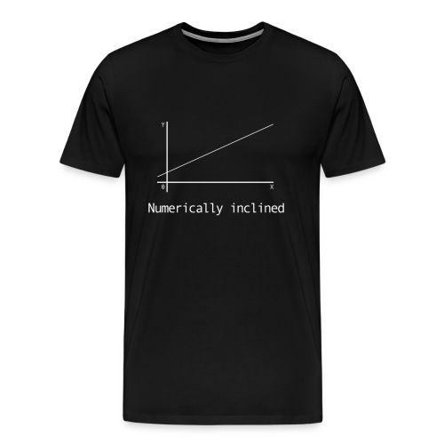 Numerically Inclined - Men's Premium T-Shirt