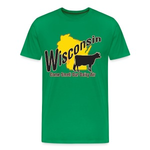 Wisconsin Dairy Air - Men's Premium T-Shirt