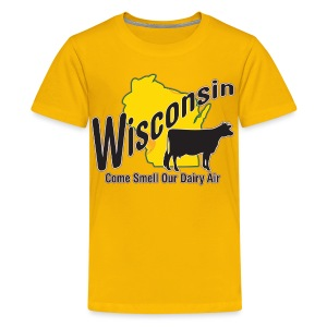 Wisconsin Dairy Air - Kids' Premium T-Shirt