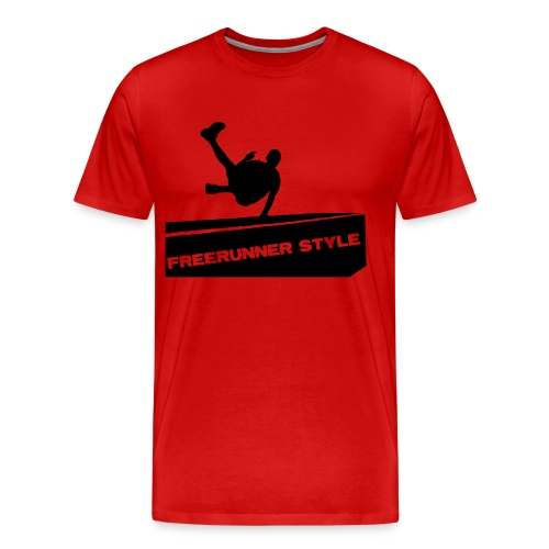 FreeRunning Style - Men's Premium T-Shirt