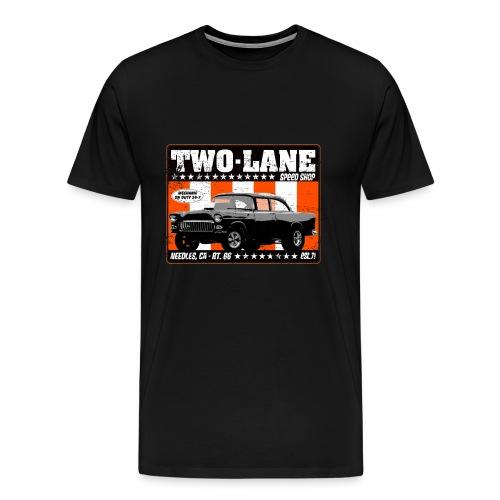 Two Lane Speed Shop - Men's Premium T-Shirt
