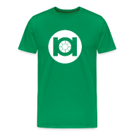 T-Shirts ~ Men's Premium T-Shirt ~ Green Tie