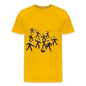Cop Attack - Men's Premium T-Shirt