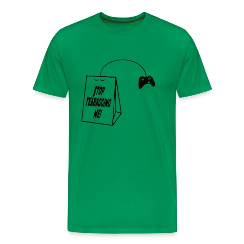 Video Game Teabagging - Men's Premium T-Shirt