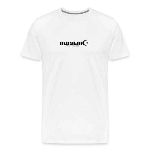 Muslim And Proud T-Shirt  - Men's Premium T-Shirt