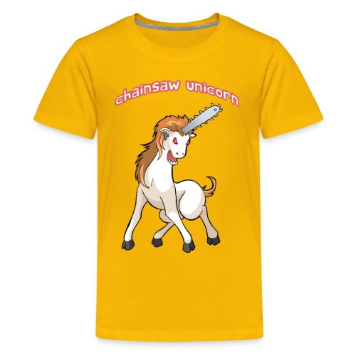 Chainsaw Unicorn for kids! - Kids' Premium T-Shirt