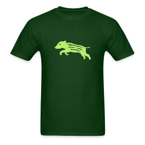shirt baby wild boar hunter hunting forest animals nature pig rookie shoat - Men's T-Shirt