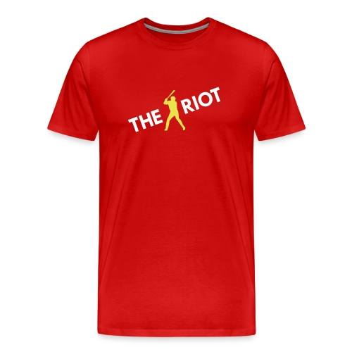 THE RIOT cardinals (red) - Men's Premium T-Shirt