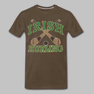 Irish Hurling - Men's Premium T-Shirt