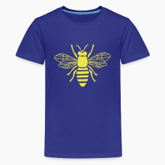 bee i love honey bumble bee honeycomb beekeeper wa Kids' Shirts