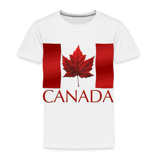 Canada Flag Souvenir Toddler's T-shirts Boys & Girls Canadian Souvenir Shirts - Toddler Premium T-Shirt