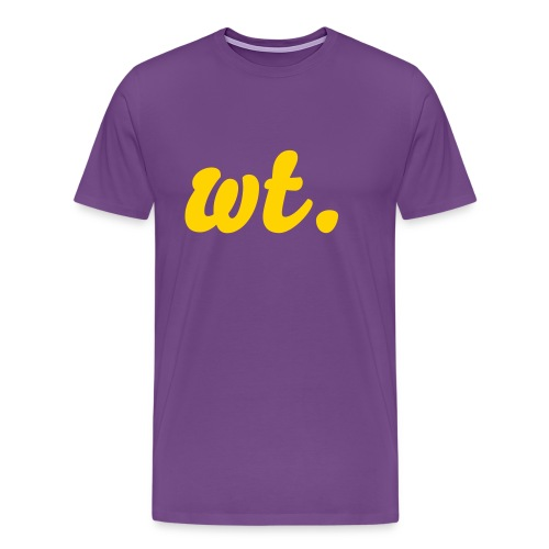 wt. Special Edition - Men's Premium T-Shirt