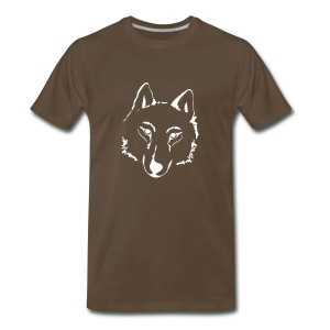 t-shirt wolf pack wolves howling wild animal - Men's Premium T-Shirt