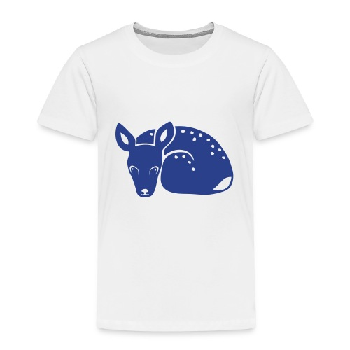 t-shirt fawn kid deer timid cute bambi animal baby - Toddler Premium T-Shirt