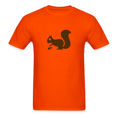 t-shirt squirrel acorn chipmunk tree forest animal - Men's T-Shirt