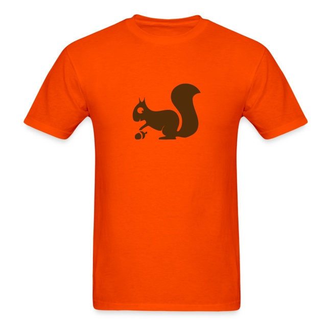 t-shirt squirrel acorn chipmunk tree forest animal
