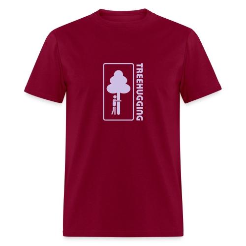 t-shirt treehugging tree hug treehugger trees forest natur - Men's T-Shirt