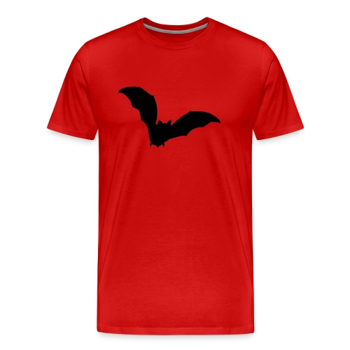 t-shirt bat wings vampire night halloween dracula blood - Men's Premium T-Shirt