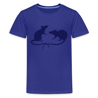 rat rats mouse mice ratty Kids' Shirts