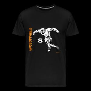 Soccer - Unstoppable - Men - Men's Premium T-Shirt
