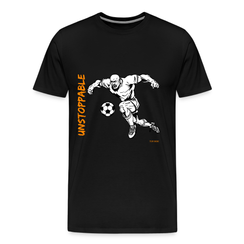 Soccer - Unstoppable - Men - Men's Premium T-Shirt