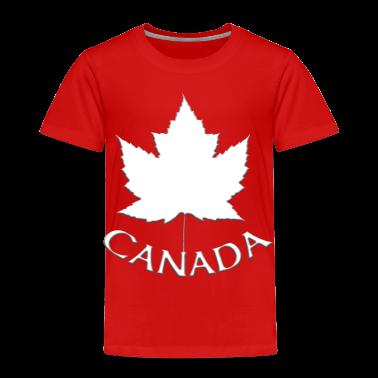 Kid's Canada Souvenir T-shirt Toddler Canada T-shirt