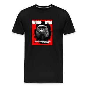 WGM GYM Eat Meat Mens Cotton Tee - Men's Premium T-Shirt